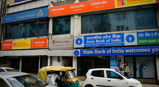 India's massive state banks are in trouble. That's great news for some