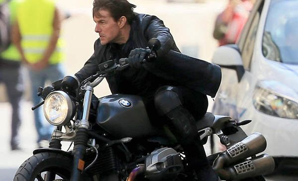'The bike will retire me' Tom Cruise vows to carry on riding