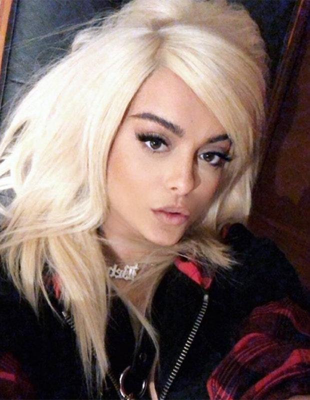 Bebe Rexha takes selfie