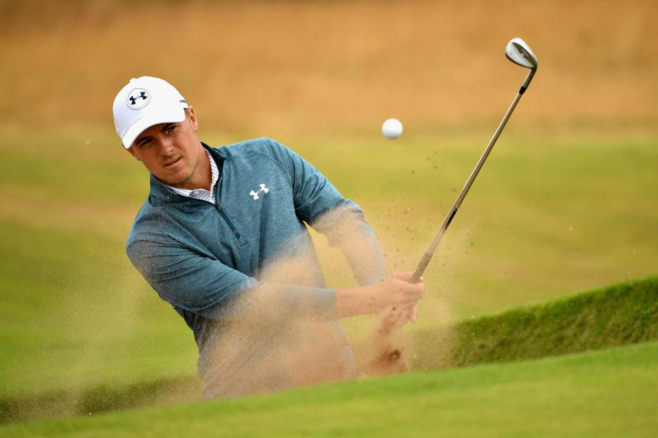 Defending champion Jordan Spieth is also in a great position at three-under after two round at Carnoustie