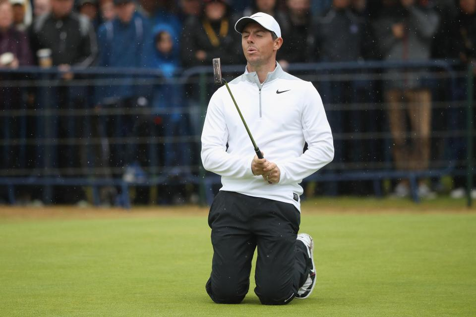 McIlroy is well in contention heading into the weekend
