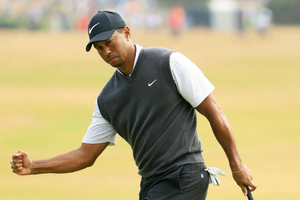 Woods was back to his brilliant best