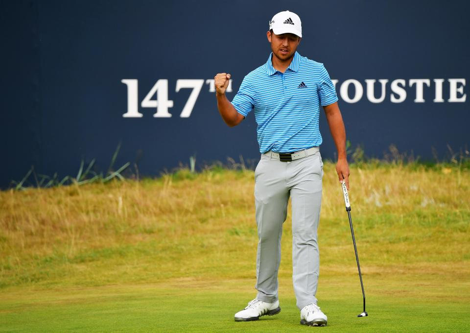 Schauffele shares the lead