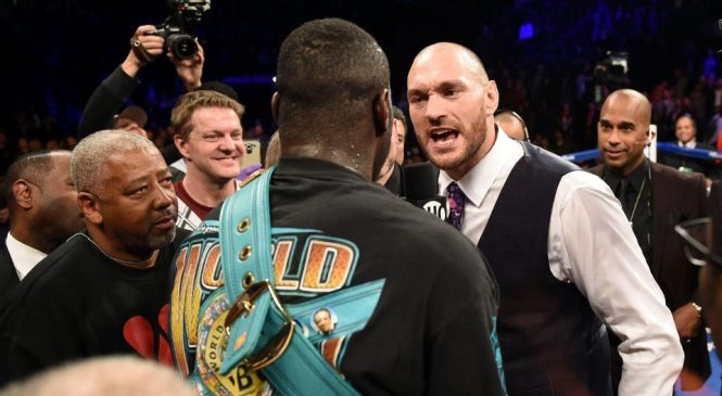 'Wait for the news' – Tyson Fury teases potential heavyweight clash with world champion Deontay Wilder and lashes out at Anthony Joshua