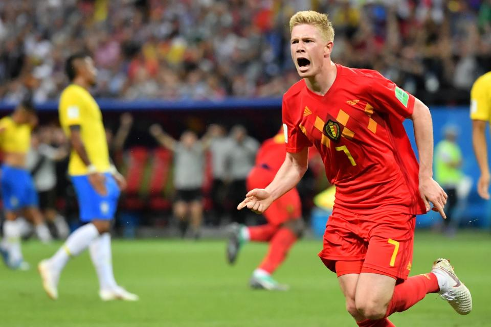 De Bruyne scored what proved to be the winner