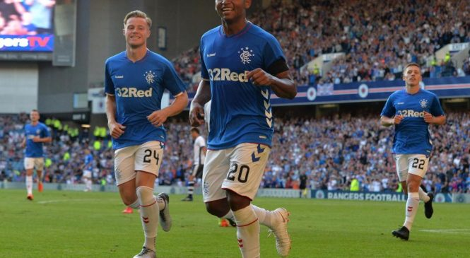 Osijek 0-1 Rangers: Steven Gerrard enjoys Europa League victory thanks to Alfredo Morelos header