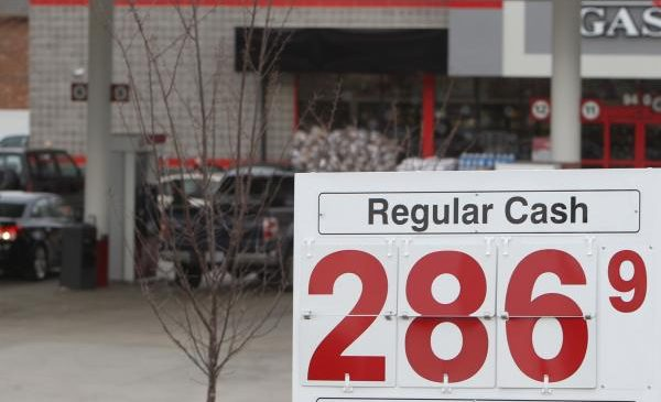 Higher oil prices means higher gas prices
