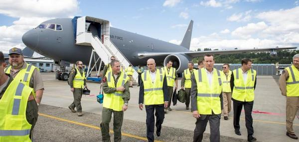 KC-46 tanker aircraft completes flight tests ahead of first delivery