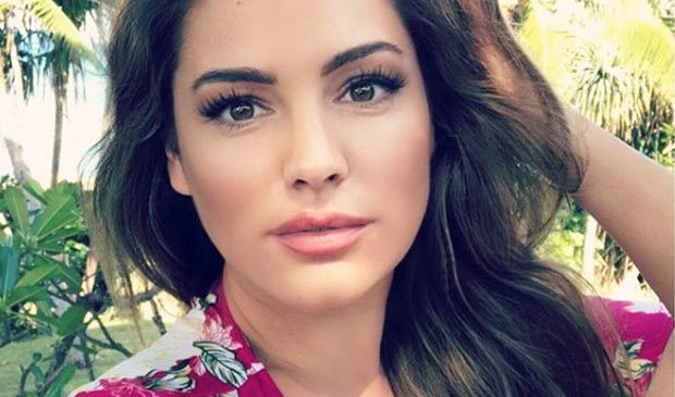 Kelly Brook drops jaws in see-through lingerie extravaganza