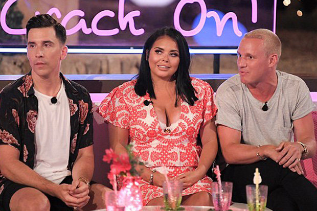 Scarlett Moffatt on Love Island Aftersun
