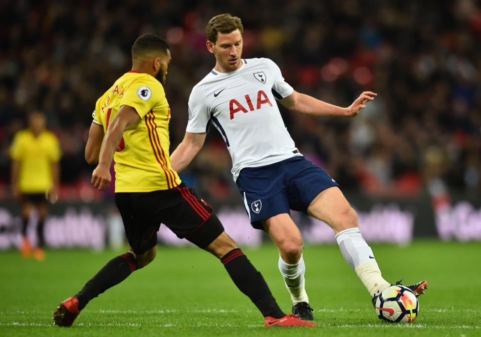 Tottenham's Jan Vertonghen targeted by Paris Saint-Germain as he enters final year of contract