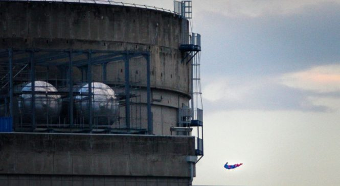 Greenpeace drone, toy plane crash into French nuclear plant