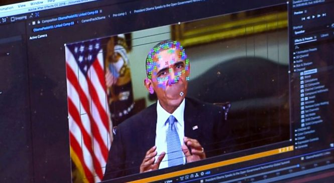 I never said that! High-tech deception of 'deepfake' videos