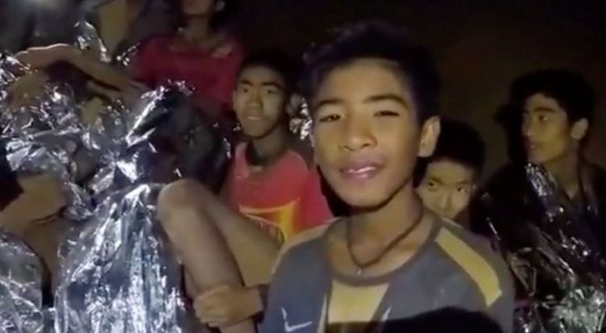 Mood remains optimistic after D-Day in Thai cave