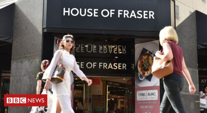 House of Fraser bought by Sports Direct for £90m