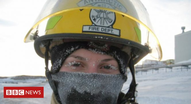 Yes, Antarctica has a fire department