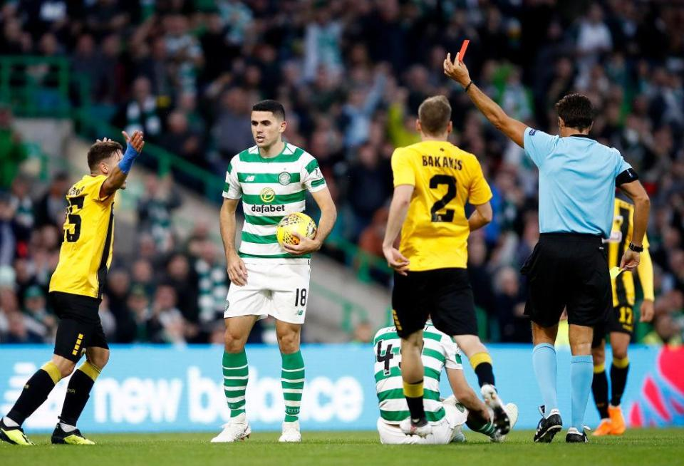 Celtic were unable to fully exploit their man advantage in the final 30 minutes of the game
