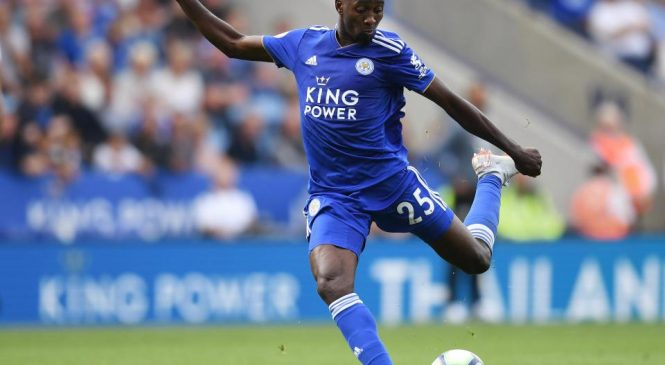 Leicester City midfielder Wilfred Ndidi signs new six-year deal with Premier League side