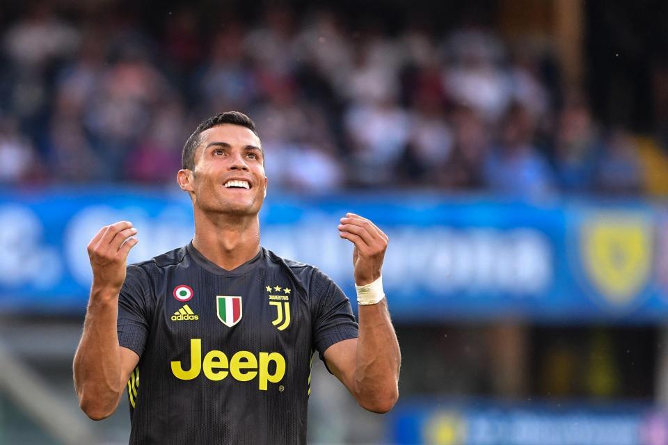 Ronaldo made his Serie A bow