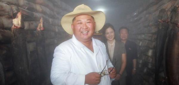 Kim Jong Un touts catfish production as 'gold ingots'