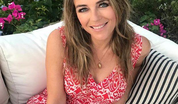 Liz Hurley, 52, shares slice of 'summer heaven' in thigh-grazing minidress