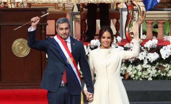 Mario Abdo Benítez sworn in as Paraguay's new president