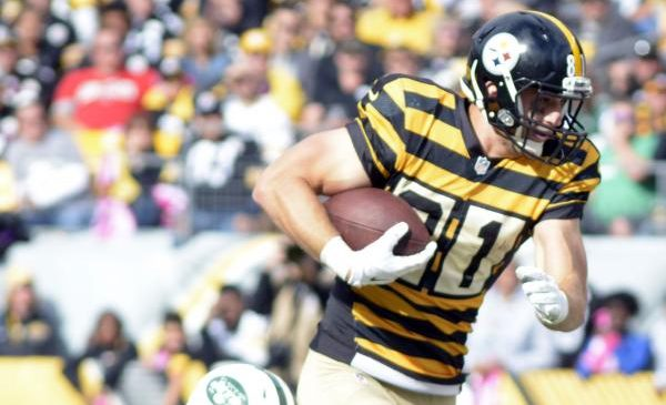 Pittsburgh Steelers thin at tight end after Jesse James injury