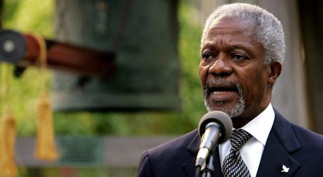 Kofi Annan death: World leaders honour former UN chief