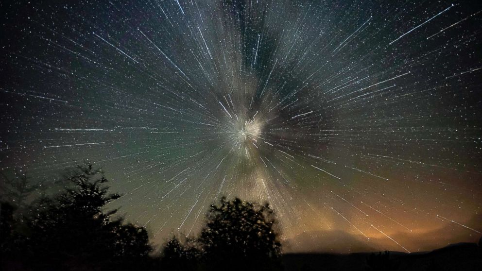 Best images from this year's Perseid meteor shower