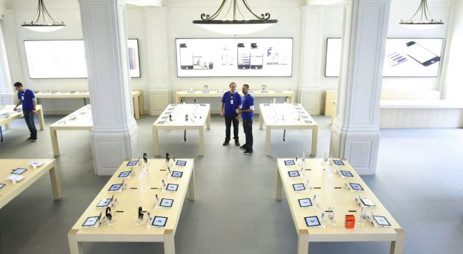 Apple store evacuated 'after iPad explodes'
