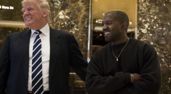 Trump praises Kanye but ignores gravely ill John McCain