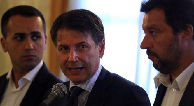 Italy's populists attack elites over bridge collapse