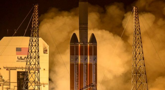 Lift off! NASA's 'touch the sun' mission launches