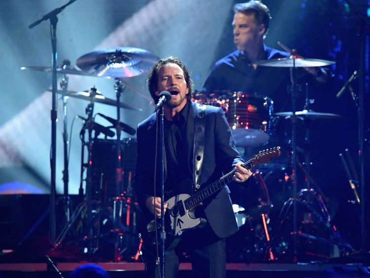 Pearl Jam said it wanted to encourage people to vote in the upcoming midterms