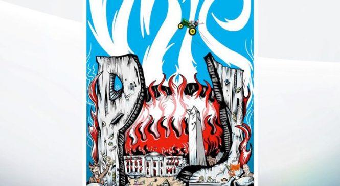 Pearl Jam slammed for 'gory' anti-Trump poster