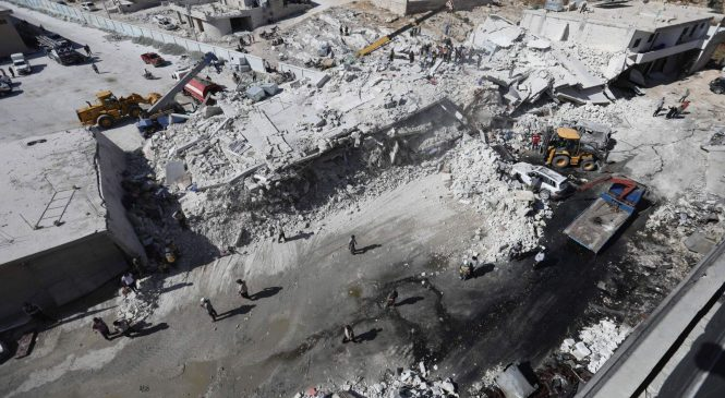12 children among 42 dead in weapons depot blast
