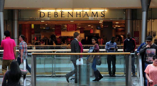 Debenhams shares plunge 17% as it calls in KPMG