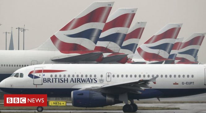 British Airways probes customer data theft