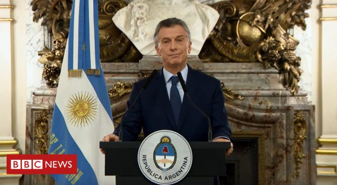 Argentina imposes austerity measures in bid to stabilise peso