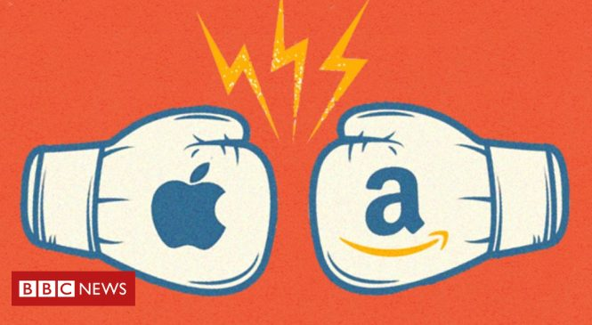 Apple v Amazon: Battle of the titans