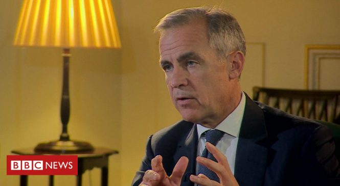 Brexit: Carney warns no-deal could see house prices plunge