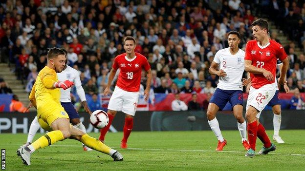 Rashford gives England win over Swiss in scrappy friendly