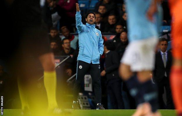 Man City assistant coach Mikel Arteta