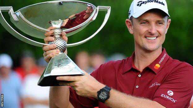 Emotional Woods wins for first time in five years as Rose takes $10m Tour jackpot