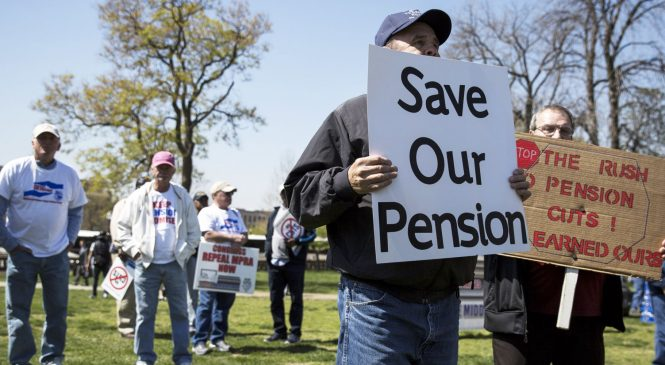 Public pensions are paying higher fees for lower returns, Pew study finds