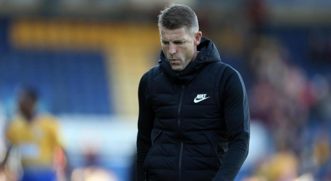 Northampton Town sack manager Dean Austin after 4-0 defeat to Mansfield