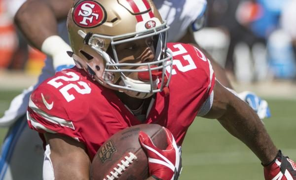 Breida gives 49ers hope for ground game
