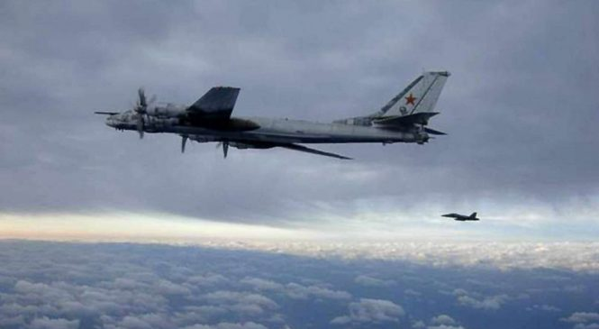 Russian bombers intercepted off Alaska for second time this year