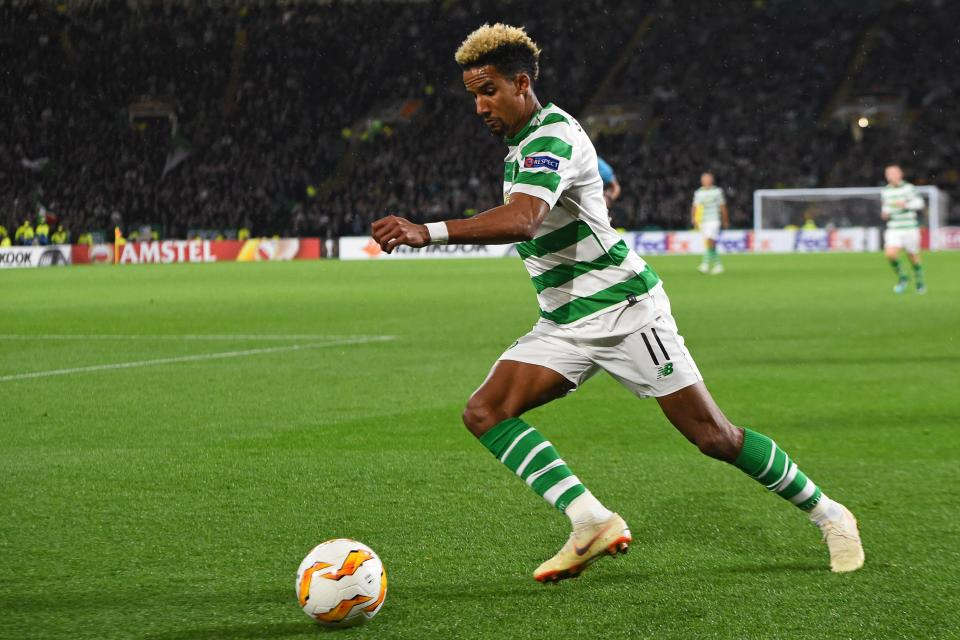 Scott Sinclair couldn't find a way past the Norwegian side for Celtic