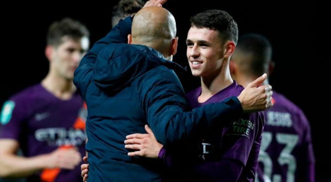 Phil Foden stars as Manchester City ease past Oxford United, Burton Albion upset Burnley, plus more
